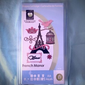 Cricut French Manor Never Opened